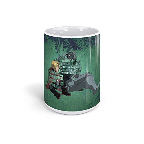 Ceramic Coffee Mug Japanese Comic Cup This Artwork Anime & Manga Graphic Novels Drinkware Super White Mugs Family Gift Cups 15oz 443ml]()