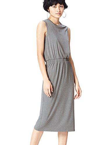 Fcoawbc4 Robe Femme Grey Marl Find Midi Gris Jersey 8Okn0wP