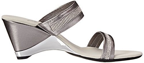 cheap for nice cheap sale visit Onex Women's Stunning Dress Sandal Pewter free shipping marketable vN53hUKM2z