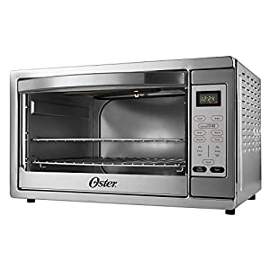 Oster Extra Large Digital Countertop Convection Oven, Stainless Steel (TSSTTVDGXL-SHP) 41PngPoAYNL