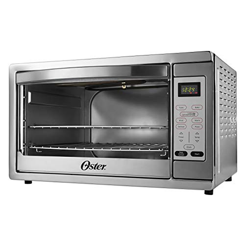 Oster Extra Large Digital Countertop Convection Oven, Stainless Steel (TSSTTVDGXL-SHP) image