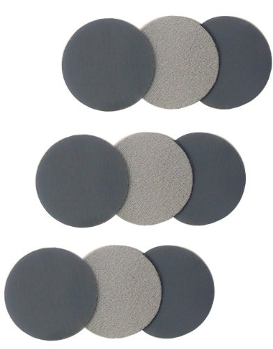 Eagle 194-1504 - 1 3/8 inch Buflex DRY Touch-Up Discs - Black - 100 discs/pack Review