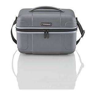41Pngv6InlL. SS300 travelite Handgepäck Kosmetikkoffer mit Aufsteckfunktion, Gepäck Serie VECTOR: Robustes Hartschalen Beautycase in…