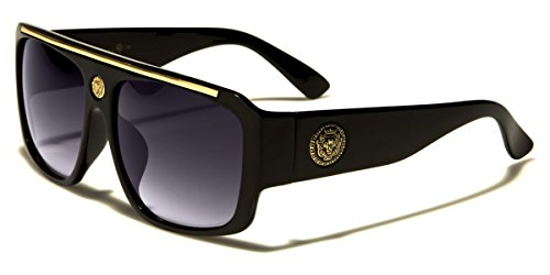Kleo Flat Top Hip Hop Rapper Retro Aviator - Shades For Men