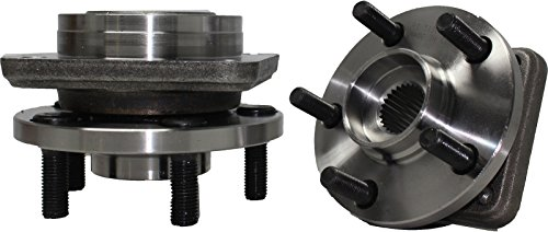 """DTA Front Wheel Bearing & Hub Assemblies NT513075 x2 (Pair) Brand New Fit Caravan Voyager Town & Country 14"""" Wheels Only Shadow Lebaron Acclaim Etc."""