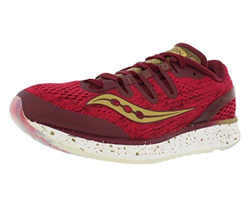ISO Saucony Freedom Saucony Shoe Red Running Womens Womens pzICwqI