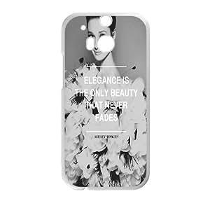 ZK-SXH - audrey hepburn Custom Case Cover for HTC One M8,audrey hepburn DIY Case