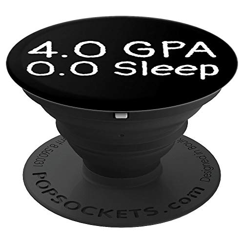 4.0 GPA Inspired Design for High School Lovers PopSockets Grip and Stand for Phones and Tablets