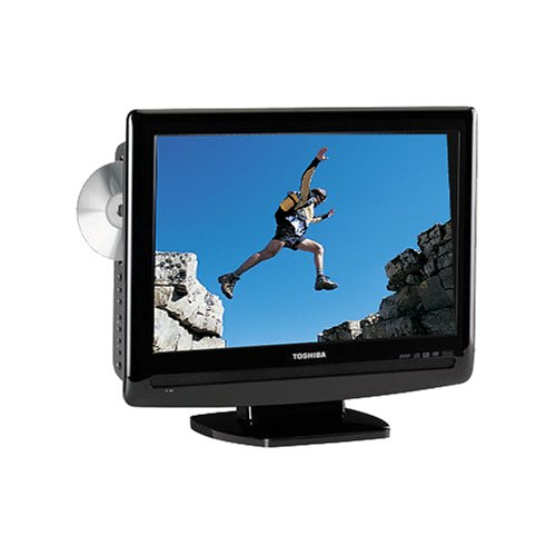 amazoncom toshiba 15lv505 156 inch widescreen lcd tv with built in dvd player black electronics - Small Flat Screen Tv