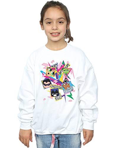 Dc Fille Icons 80s Comics Go Sweat shirt Teen Titans Blanc rUvwrqZx