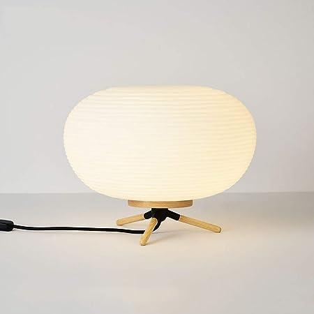 Modenny Diseño nórdico Lámpara de Mesa de Vidrio Registros ...