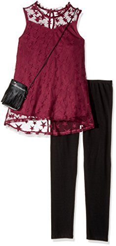 Amy Byer Girls' Big Tunic and Legging Outfit