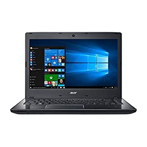 "2018 Acer TravelMate P2 TMP249 14.0"" HD Business Laptop Computer, Intel Core i5-6200U up to 2.80GHz, 8GB DDR4 RAM, 256GB SSD, DVD-Writer, 802.11ac WIFI, TPM 1.2, USB 3.0, HDMI, Windows 10 Professional"