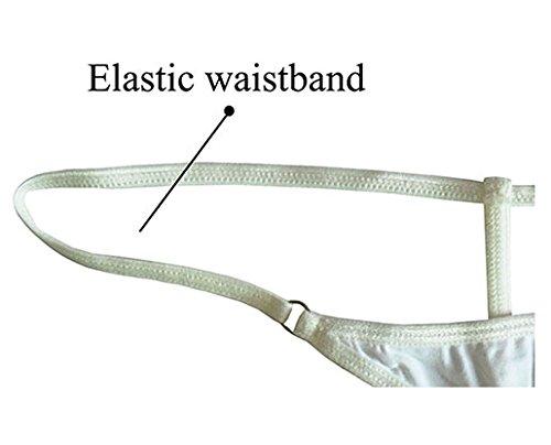 Esquki Mens Cotton Open Crotch Underwear T Back Thong (3 Colors) by Esquki (Image #6)
