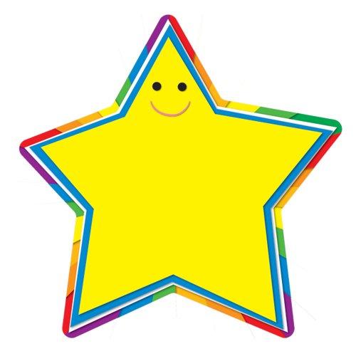 Outs Cut Classroom - Carson Dellosa Star Cut-Outs (120091)