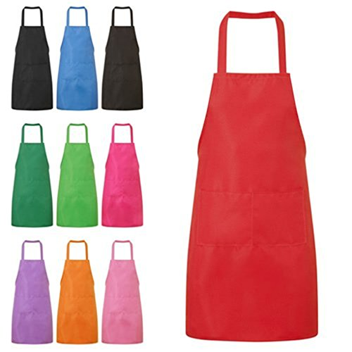 Kitchen Cooking Aprons Dress With Pockets(4#) - 1