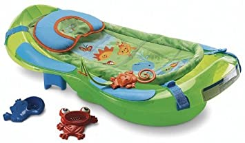 Amazon.com : Fisher-Price Bath Center, Rainforest : Baby Bathing ...