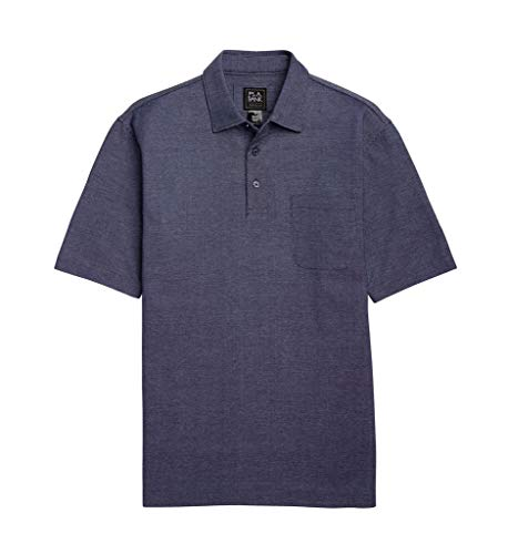 Jos. A. Bank Traveler Collection Traditional Fit Cotton Oxford Polo Shirt - 2X B&T (Navy Blue) from Jos. A. Bank