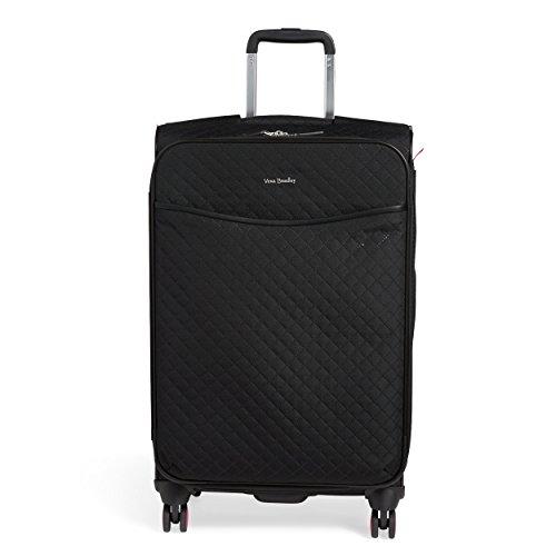 Vera Bradley Rolling Luggage - Vera Bradley Iconic Large Spinner Suitcase, Classic Black