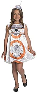 Rubie's Costume Star Wars Episode VII: The Force Awakens Deluxe BB-8 Child Costume, Small