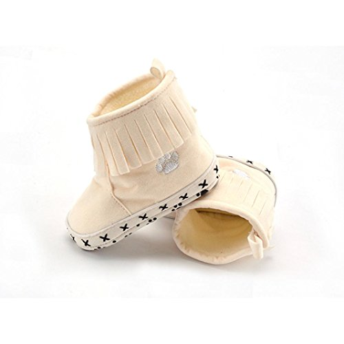 Clode® Baby Cotton weiche Sohle Snow Boots Soft-Krippe Schuhe Kleinkind Stiefel Beige