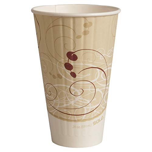 Duo Shield Case - Solo IC20-J8000 20 oz Symphony Duo Shield insulated Paper Hot Cup (Case of 350)