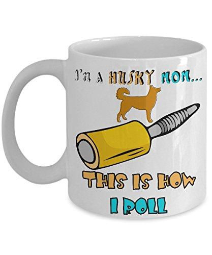 Clifford Costume Ideas (I'm Husky Mom...This Is How I Roll Coffee Mug - Husky Mom Mug - Gifts for Husky)