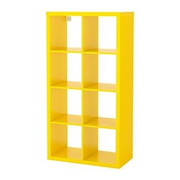 Amazon Com Ikea Shelf Unit Yellow 1228 81111 3422 Kitchen