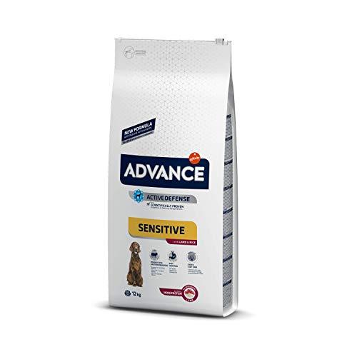 ADVANCE Sensitive Medium/Maxi – Pienso Para Perros Adultos De Razas Medianas y Grandes Con Cordero – 12 kg