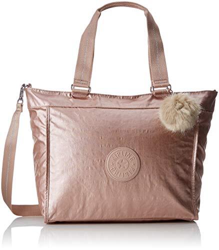 - Kipling New Shopper L, Women's Tote, Gold (Metallic Blush), 17.5x48.5x34 cm (B x H T)