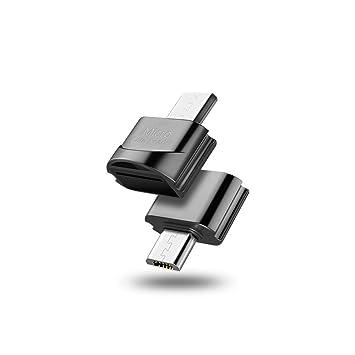 BAIYI Lector de Tarjetas, Lector de Tarjetas Micro USB 2.0 ...