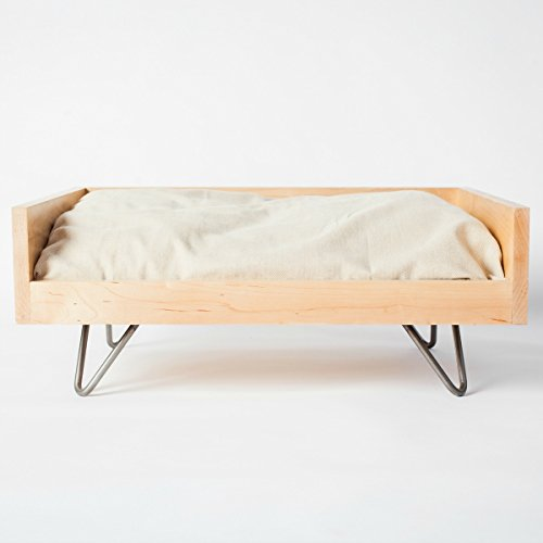 Pillow Sized Pet FURniture Washable, Durable, Elevated, Modern by Cozy Cama Pet FURniture