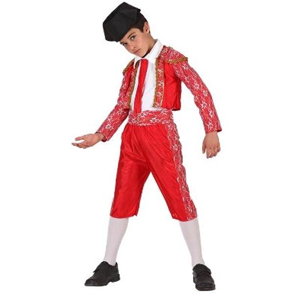 Atosa-19642 Disfraz Torero, color rojo, 5 a 6 años (19642): Amazon.es: Juguetes y juegos