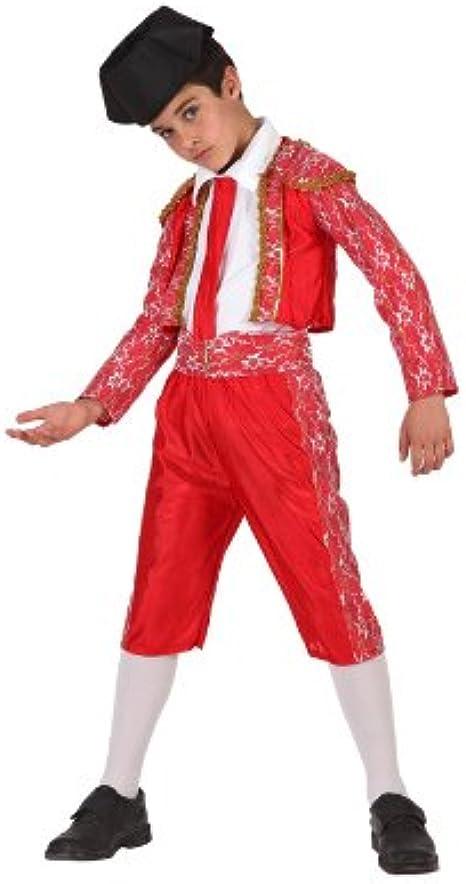 Atosa-69098 Disfraz Torero, color rojo, 10 a 12 años (69098)
