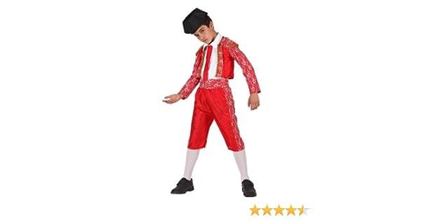 Atosa-69098 Disfraz Torero, color rojo, 10 a 12 años (69098): Amazon.es: Juguetes y juegos