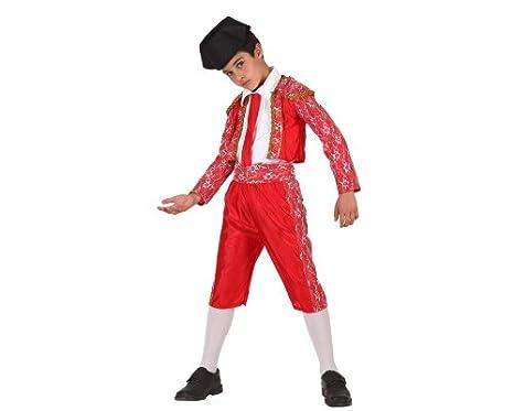 Atosa-19642 Disfraz Torero, color rojo, 5 a 6 años (19642): Amazon ...