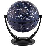 Stella Nova Stars Swivel and Tilt Globe, 4-Inch