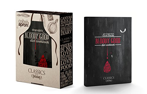 Bloody Good Diet Cookbook - Written and bitten by Count Dracula: Book and Apron Set