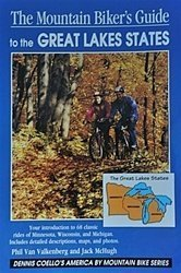 (The Mountain Biker's Guide to the Great Lakes States: Minnesota Wisconsin Michigan (Dennis Coello's America By Mountain Bike))