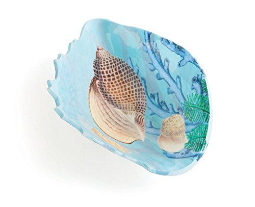 Go Home Beach Decor Platter Serving Trays Fruit Bowl Serving Platters Beach Decor Shell Shaped 12