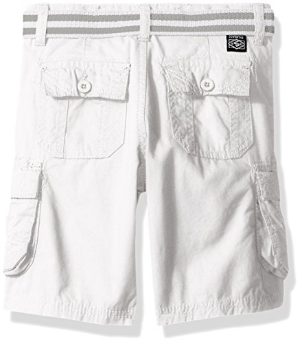 70e0a1d66c Southpole Boys' Belted Mini Canvas Cargo Shorts in Various Colors, White,  ...