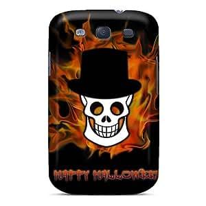 LauraAdamicska Samsung Galaxy S3 Shock Absorbent Hard Phone Cover Allow Personal Design Vivid Helloween Band Image [LJG12743VqzL]