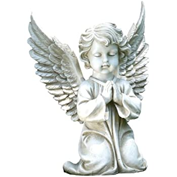 This Item Napco Kneeling Angel Garden Statue, 15 Inch Tall