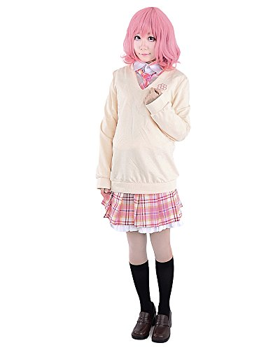 Miccostumes Women's Noragami Ebisu Kofuku Cosplay Costume (XL, Light (Noragami Cosplay Costume)