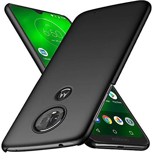 Moto G7 Case, TopACE Extremely Light Ultra Thin Super Slim Hard PC Case Compatible for Motorola Moto G7 / Moto G7 Plus (Black)