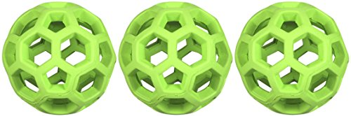 (3 Pack) Tough By Nature Hol-ee Roller, Assorted - Hol Roller Ee Rubber