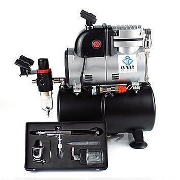 hjlhyl® Compresor De Pistón y cilindro única Ophir con depósito de aire & kit de