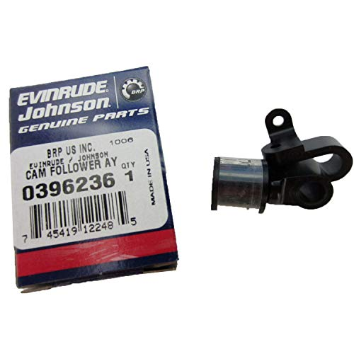 Cam Follower with Spool Roller - 9.9 & 15 hp - 1974 to 1992 - Johnson Evinrude - OMC 396236