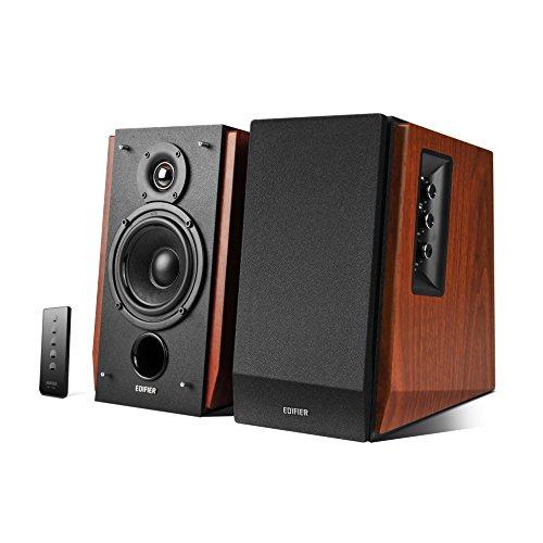 EDIFIER R1700BT Studio Bluetooth-Lautsprechersystem (66 Watt) mit Infrarot-Fernbedienung braun