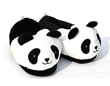 36249d398688 Summer Sale Home Emoji Smiley Slipper (Panda Adult Plush Home Slippers)